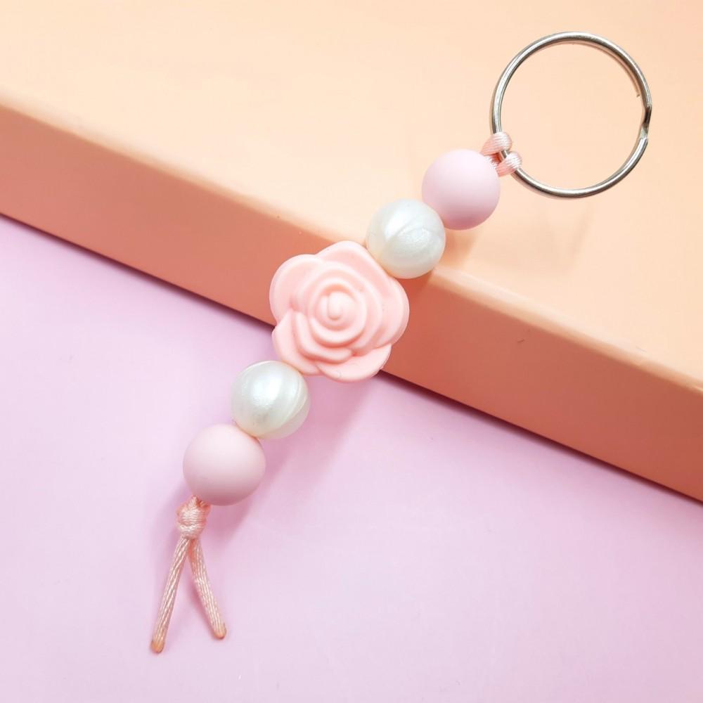 Rose key chain