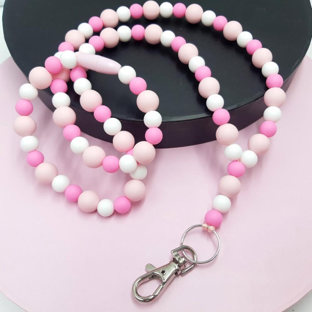 Lanyard - Angel pink