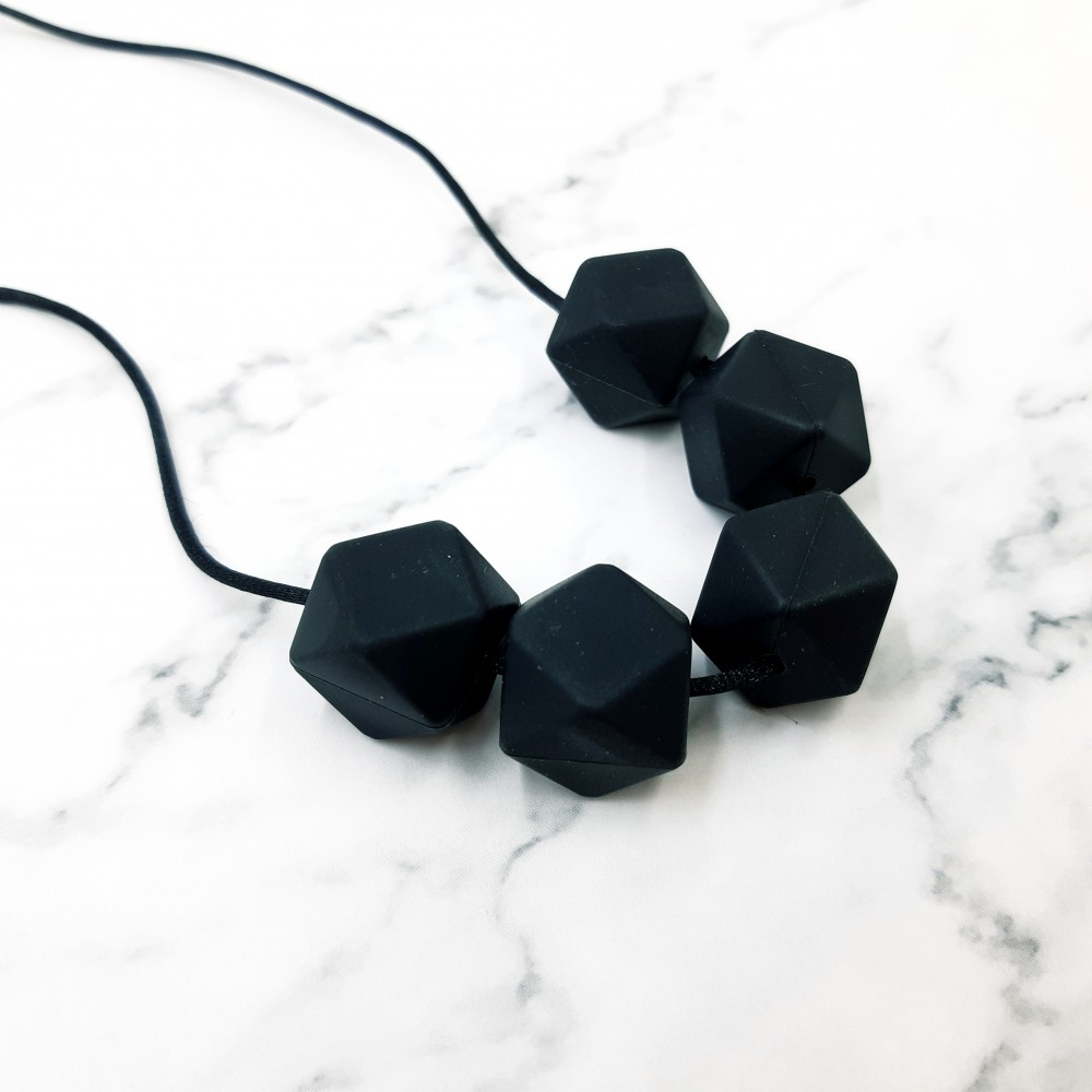 Nursing necklace - Black