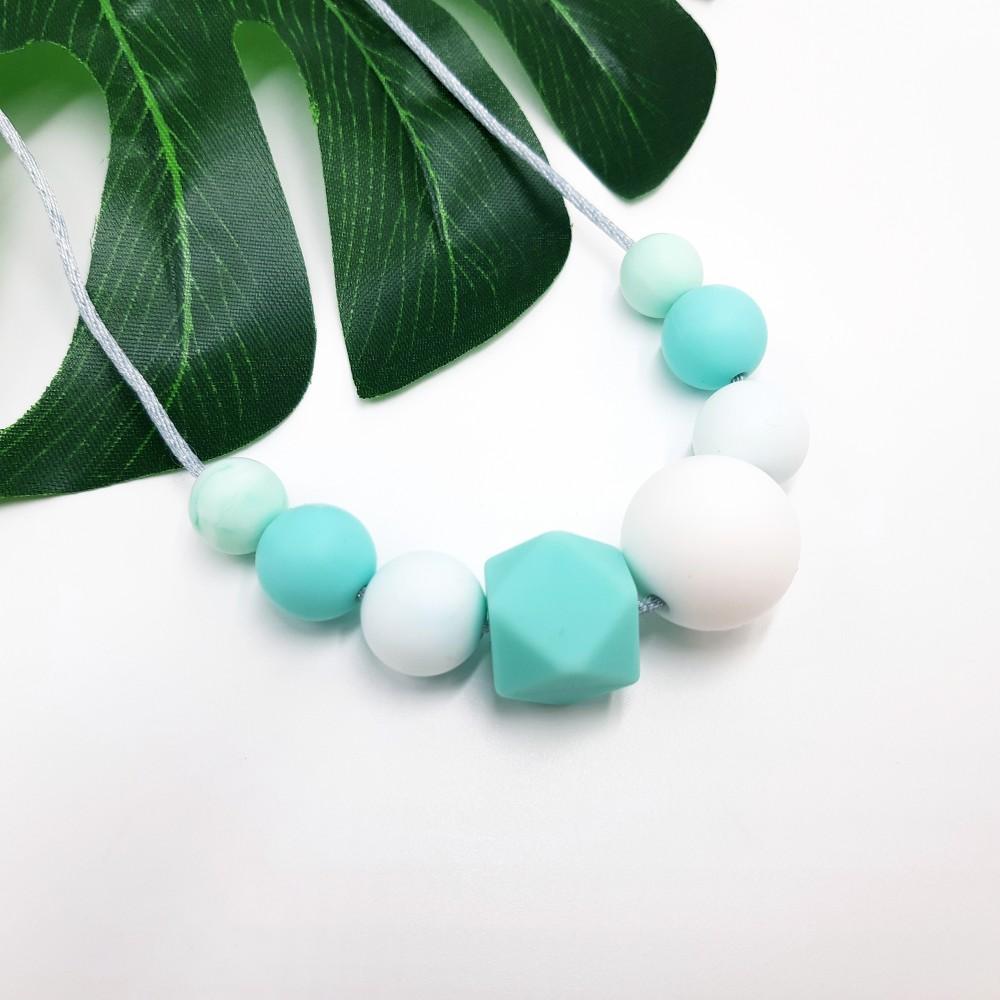 Nursing necklace - Ice mint
