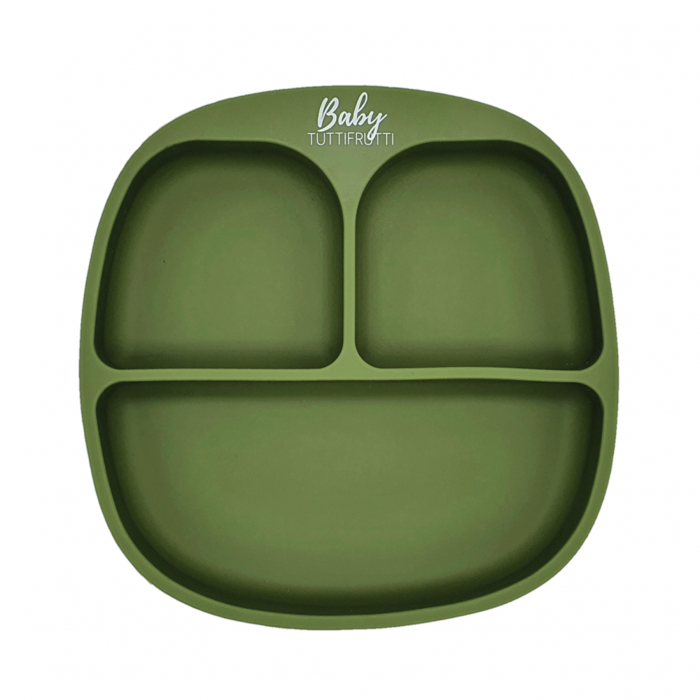 Silicone plate   Army Green