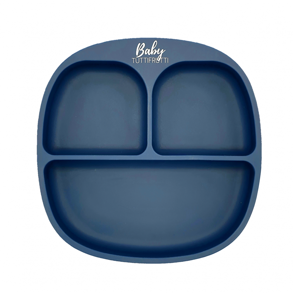 Silicone plate   Navy Blue