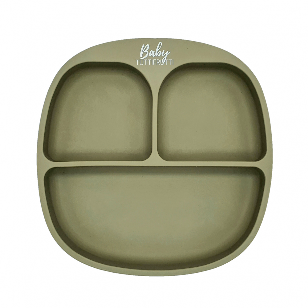 Silicone plate   Sage