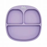 Silicone plate | Pastel Lilac