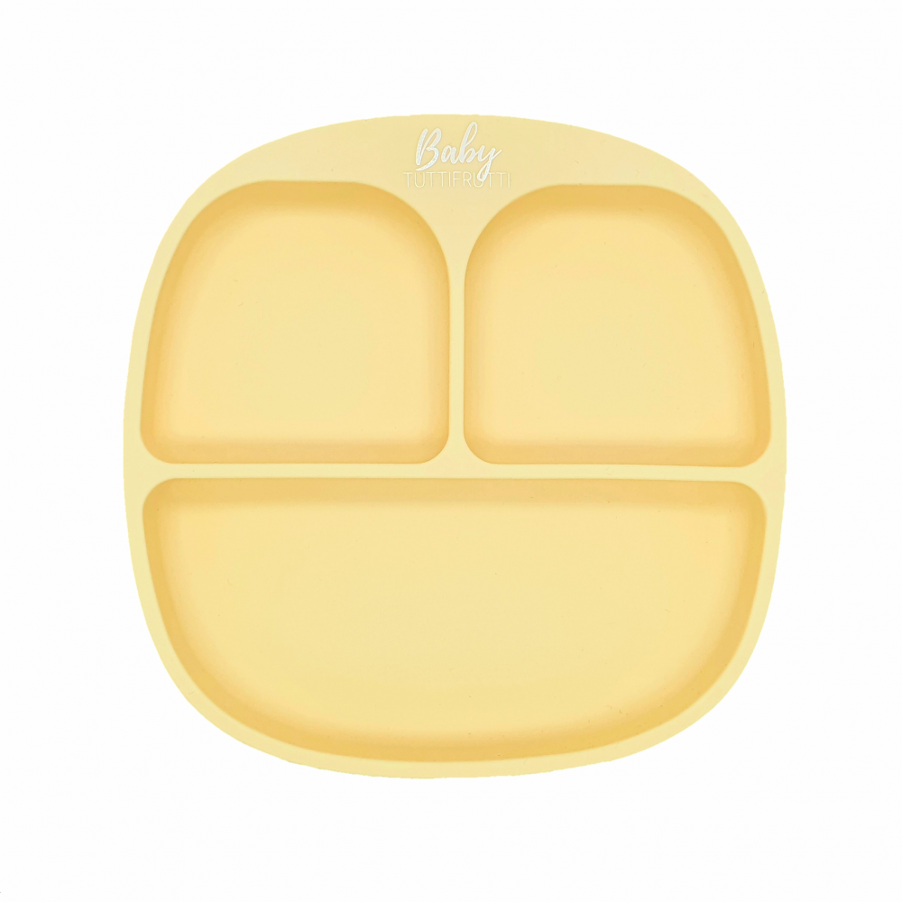 Silicone plate   Pastel Yellow