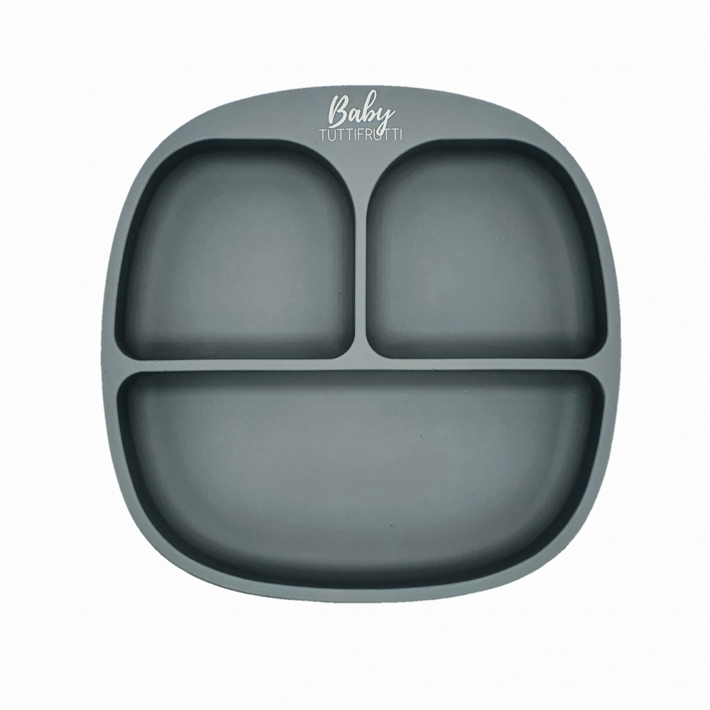 Silicone plate   Grey