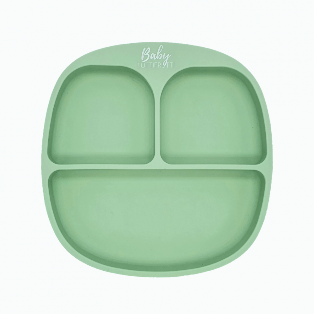 Silicone plate   Mint