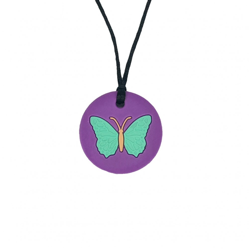 Kids' necklace | Butterfly - Purple