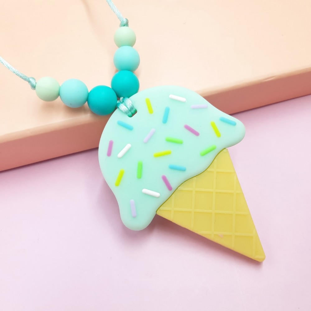 Ice cream necklace - Mint