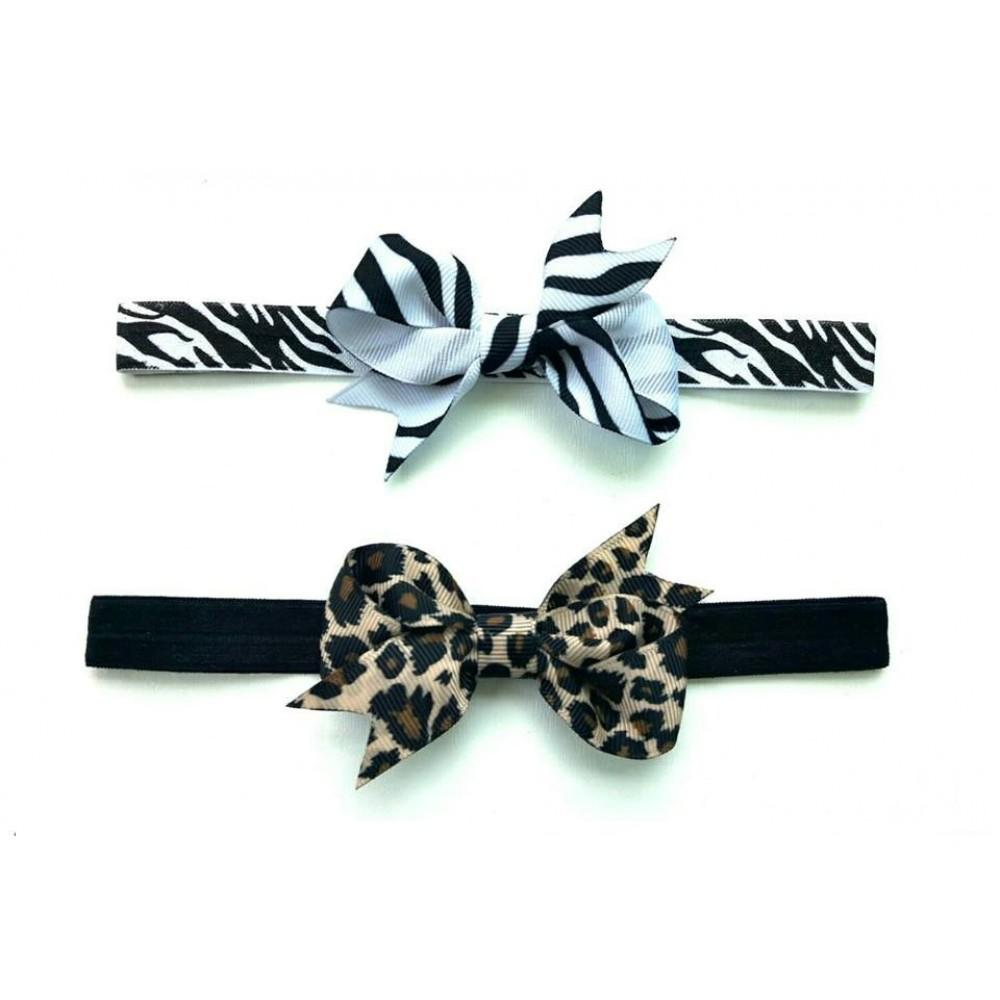 Headband   Leopard / Zebra