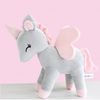 Unicorn - Grey/pink L-size