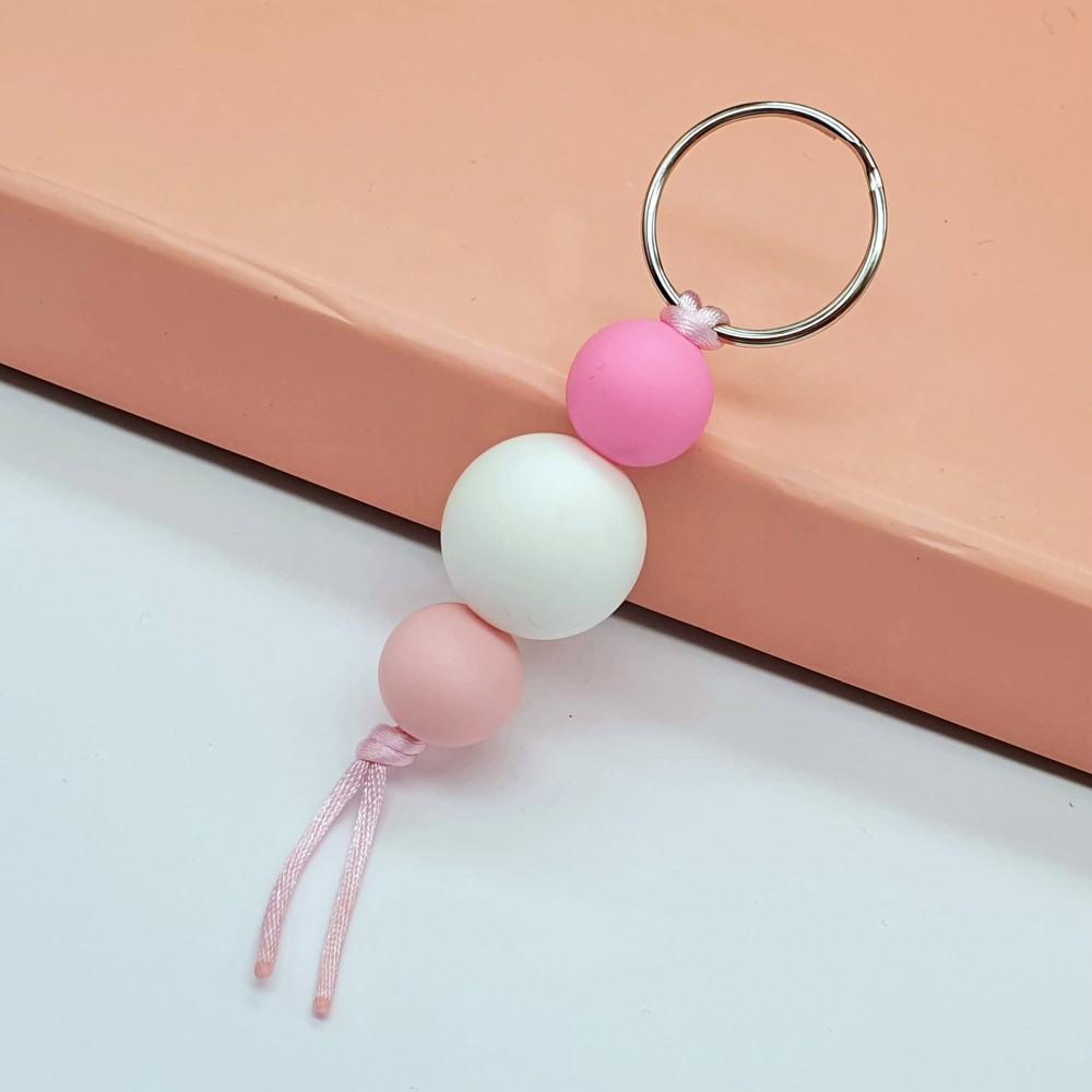 Key chain - Angel Pink