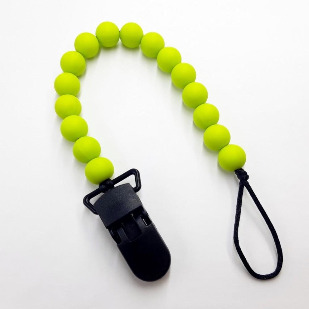 Pacifier clip - Lime